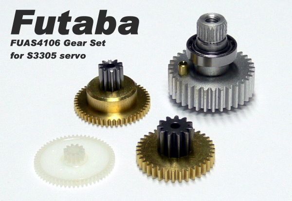 Futaba RC Model Servo Gear Set for R/C Hobby S3305 Servo SG816