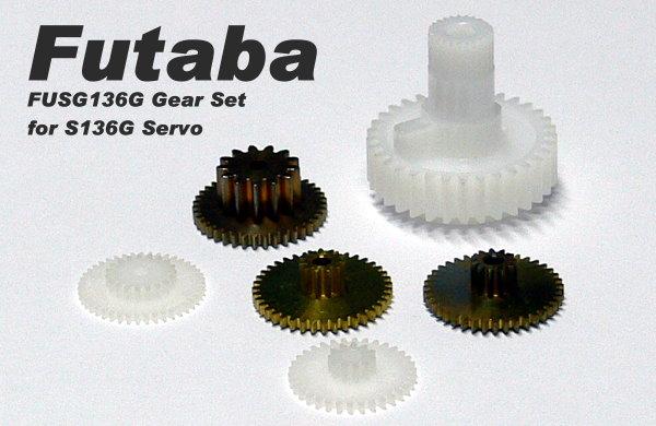 Futaba RC Model Servo Gear Set for R/C Hobby 136G Servo SG728