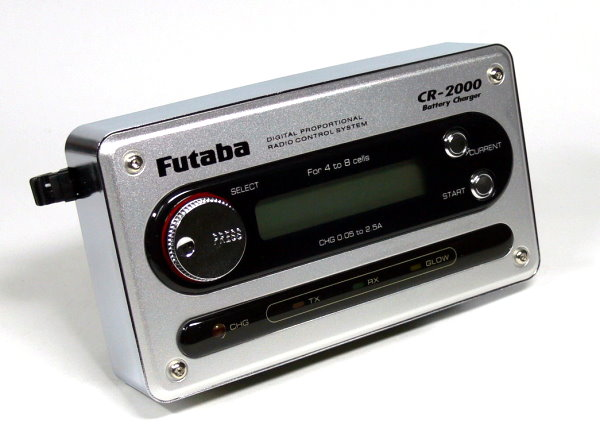 Futaba Model CR-2000 R/C Hobby Battery Charger for TX, RX & Glow BC011