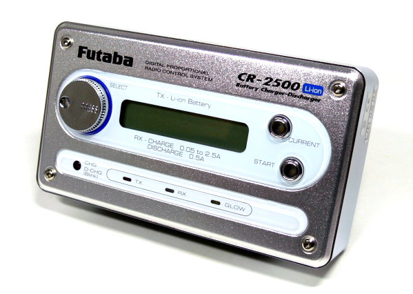 Futaba Model CR-2500 R/C Hobby Li-ion Battery Charger Discharger BC014