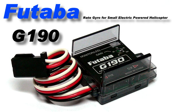 Futaba RC Model G190 Piezo Electrical Rate Helicopter R/C Hobby Gyro GY023