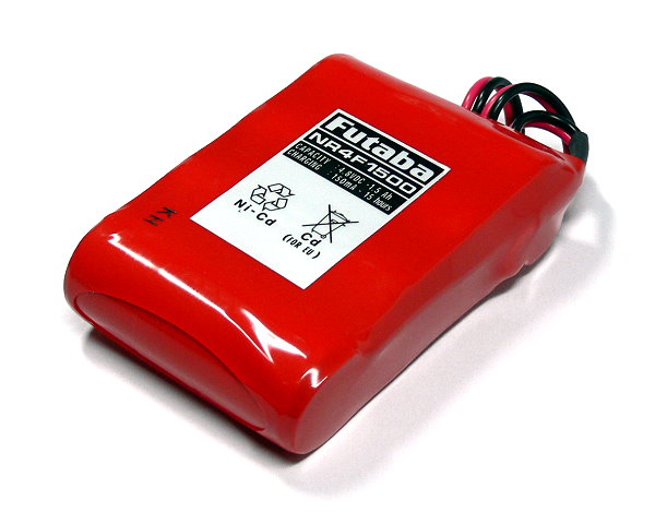 Futaba Model NR4F1500 1500mAh 4.8V RC Hobby  Receiver Battery FB225