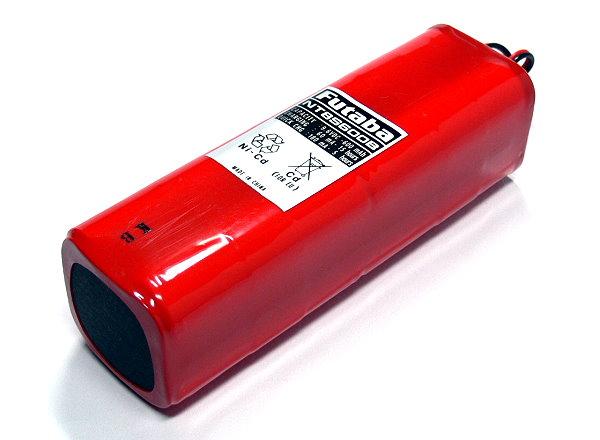 Futaba Model NT8S600B 600mAh 9.6V RC Hobby Transmitter Battery FA110