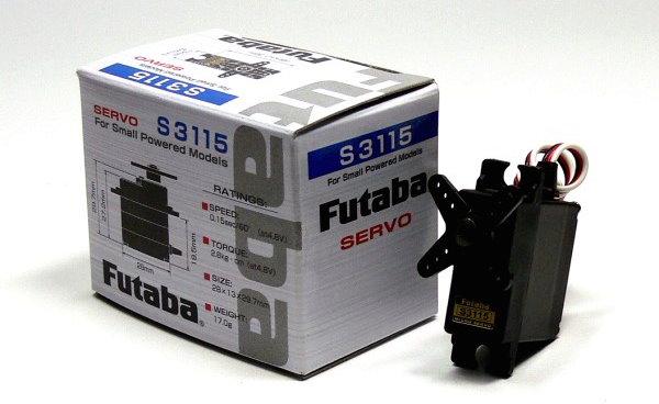 Futaba RC Model S3115 R/C Hobby Micro Servo for Small RC Model SF885
