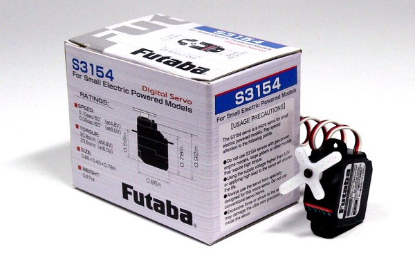Futaba RC Model S3154 Micro R/C Hobby Digital Servo for Small Model SF907