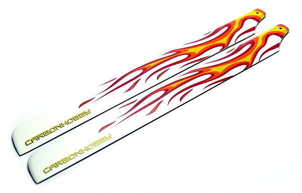 R/C Hobby Fire Carbon 325mm RC Model Helicopter Main Blades (1pair) MB360