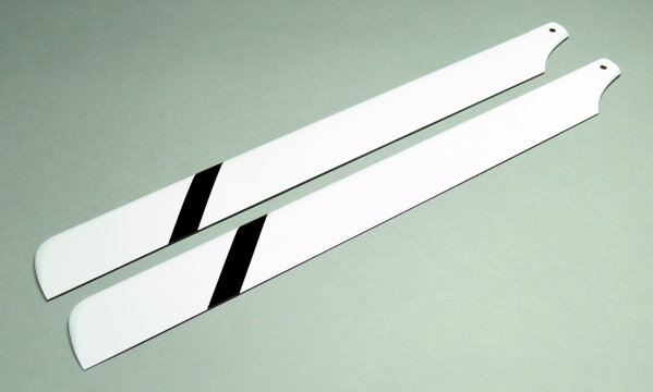 R/C Hobby Glass Fiber 325mm RC Model Helicopter Main Blades (2pairs) CA118