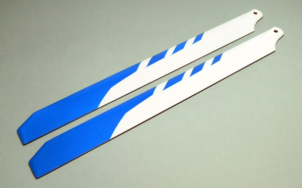 R/C Hobby Glass Fiber 325mm RC Model Helicopter Main Blades (2pairs) CA117