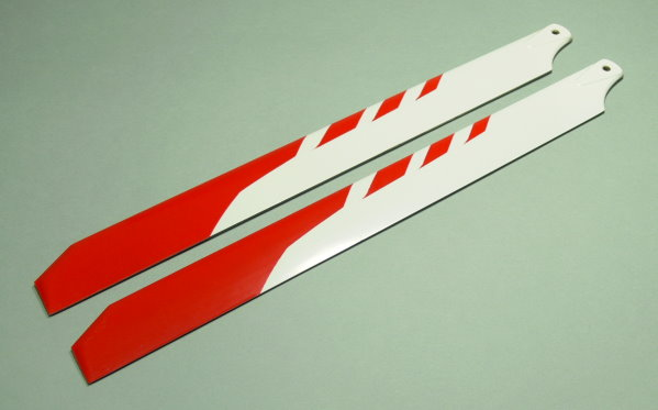 R/C Hobby Glass Fiber 325mm RC Model Helicopter Main Blades (2pairs) CA116