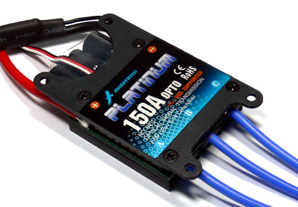 HOBBYWING Platinum 150A OPTO RC Model Brushless Motor ESC Speed Controller SL100