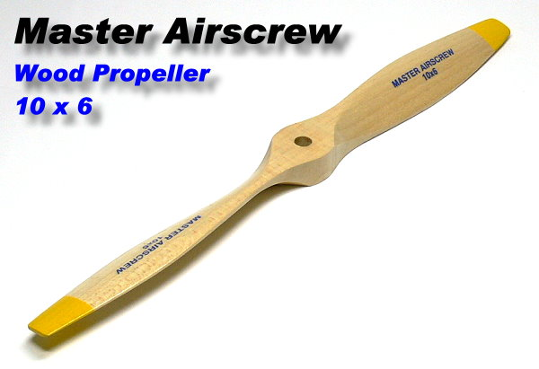 Master Airscrew RC Model Wood Series 10 x 6 R/C Airplane Propeller PM723
