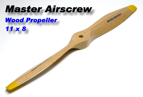 Master Airscrew RC Model Wood Series 11 x 8 R/C Airplane Propeller PM728