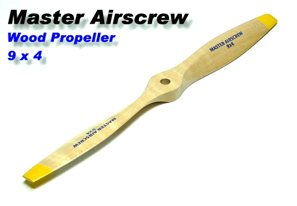 Master Airscrew RC Model Wood Series 9 x 4 R/C Airplane Propeller PM703