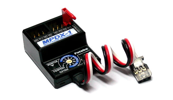 Futaba RC Model MPDX-1 R/C Hobby Multi-Prop Decoder (Fly Assistance) DF589