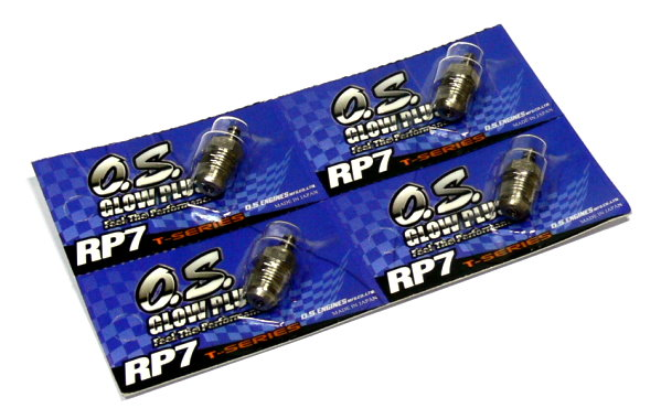 4x OS ENGINES RC Model O.S. Engine R/C Hobby Glow Plug RP7 T-Series CA078