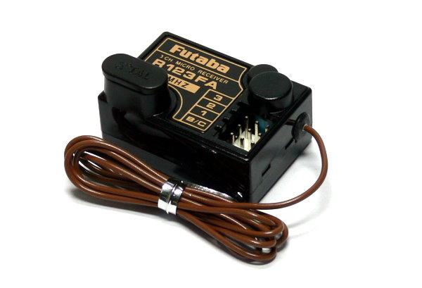 Futaba RC Model R123FA FM 36MHz 3ch R/C Hobby Micro Receiver RE489