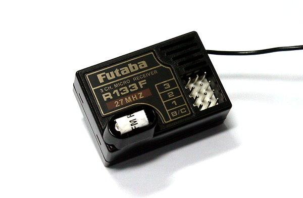 Futaba RC Model R133F FM 27MHz 3ch R/C Hobby Micro Receiver RE494