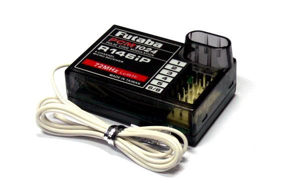 Futaba RC Model R146iP PCM1024 72MHz 6ch R/C Hobby Micro Receiver RE513