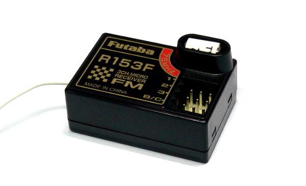 Futaba RC Model R153F FM 75MHz 3ch R/C Hobby Receiver with Crystal RE528