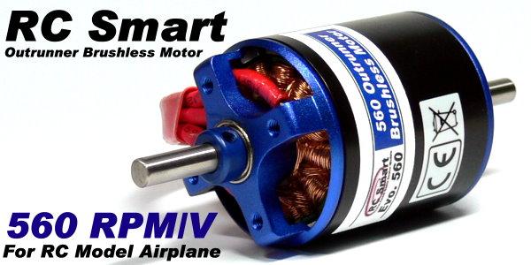 RC Model Airplane 560 RPM/V R/C Airplane Hobby Outrunner Brushless Motor OM294