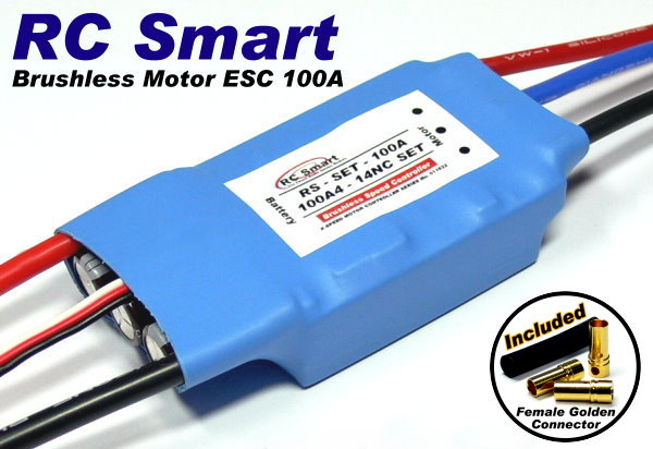 RC Model Airplane / Helicopter 100A Brushless Motor Speed Controller ESC SL019