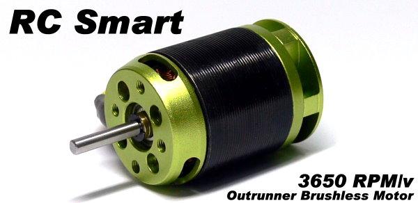 RC Model 3650 RPM/V KV R/C Hobby Outrunner Brushless Motor OM163