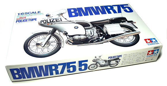 Tamiya Motorcycle Model 1/6 B.M.W R75/5 Poloce Type (Big Scale) Hobby 16006