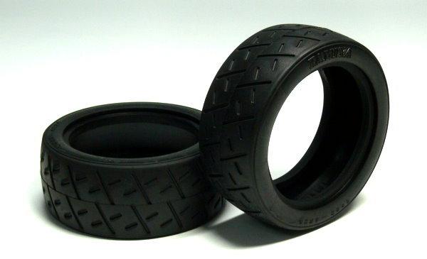 Tamiya RC Model Racing Semi-Slick Tires (2pcs) 50810