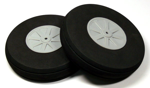 RC Model Airplane 127mm 5.00 in. R/C Hobby Wheels Tires (2pcs) WH850