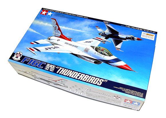 Tamiya Aircraft Model 1/48 Airplane F-16C Block 32/52 Thunderbirds Hobby 61102