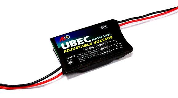 AEO RC High Vol Adjustable Voltage Input 14-40V 5V 6V 7.2V 8.4V/5A UBEC AC892