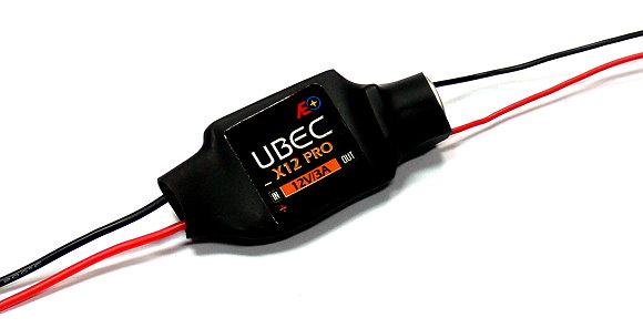 AEO RC Model X12 Pro Input 6-23V Output 12V/3A 12g R/C Hobby UBEC BEC AC906