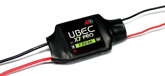 AEO RC Model X7 Pro Input 6-23V Output 7.2V/3A 12g R/C Hobby UBEC BEC AC917