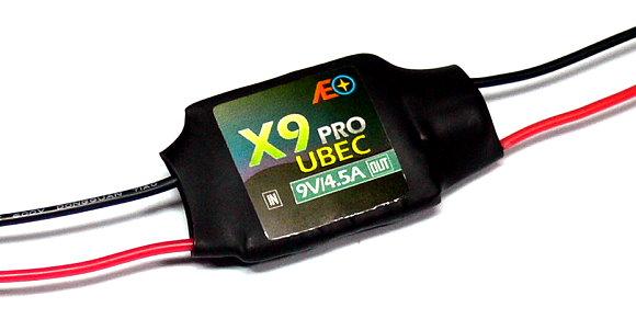 AEO RC Model X9 Pro Input 9-23V Output 9V/4.5A 12g R/C Hobby UBEC BEC AC909