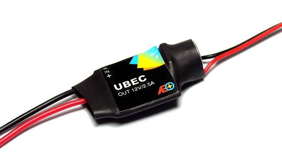 AEO RC Model Input 12-23V Output 12V/2.5A 7.8g R/C Hobby UBEC BEC AC910