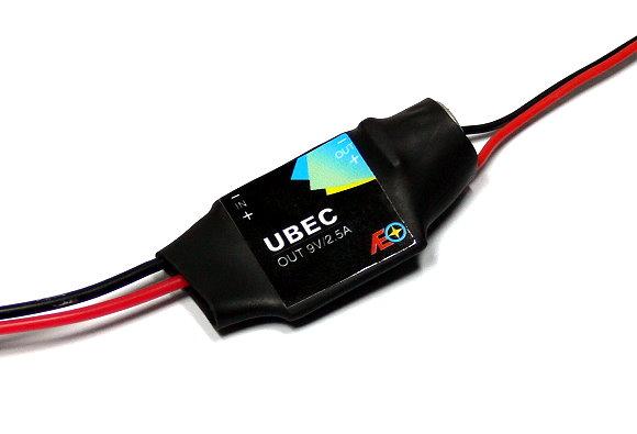 AEO RC Model Input 9-23V Output 9V/2.5A 7.8g R/C Hobby UBEC BEC AC914