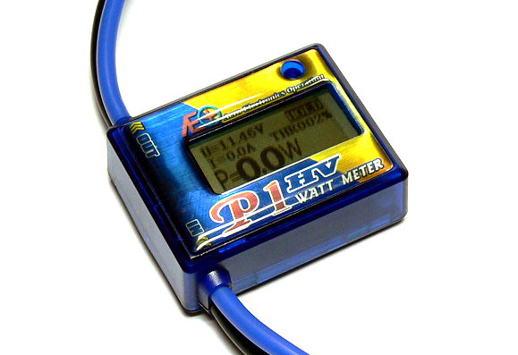 AEO Model P1 HV High Voltage and Precision R/C Hobby Wattmeter BK151