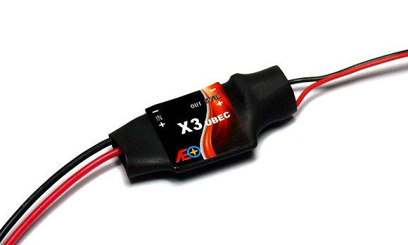 AEO RC Model X3 Input 6-23V Output 5V/3A 7.8g R/C Hobby UBEC BEC AC926