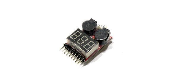 RC Model AOK 5 in 1 1-8S Lithium Battery R/C Hobby Tester & Alarm BK160