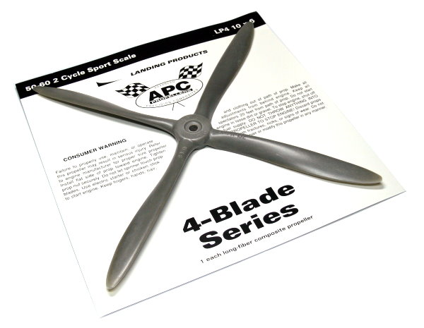 APC RC Model 4-Blade Series AP41006 10 x 6 R/C Hobby Airplane Propeller PP100