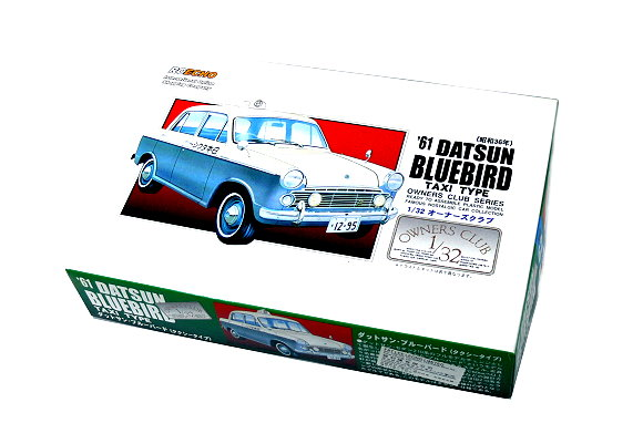 ARII Automotive Model 1/32 Cars Owners Club 61 DATSUN BLUEBIRD NO.62 A4767