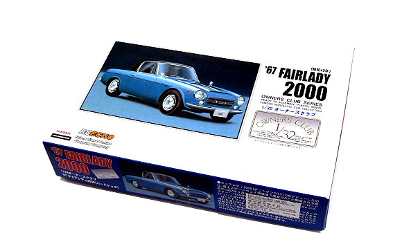 ARII Automotive Model 1/32 Cars Owners Club 67 FAIRLADY 2000 NO.1 41001 A4101