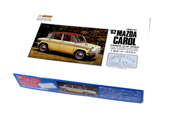 ARII Automotive Model 1/32 Cars Owners Club 62 MAZDA CAROL NO.8 41008 A4108