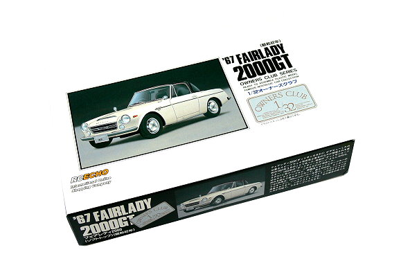 ARII Automotive Model 1/32 Cars Owners Club 67 FAIRLADY 2000GT NO.9 41009 A4109