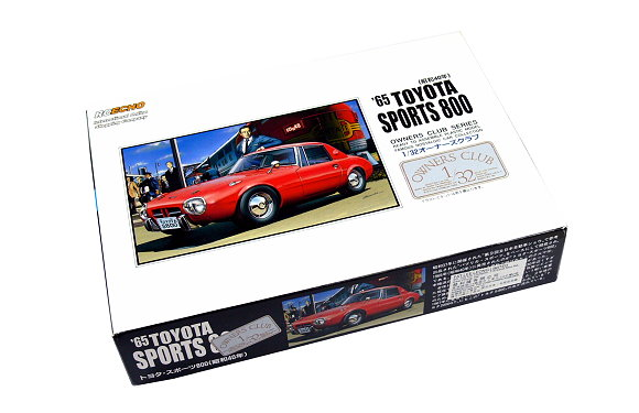 ARII Automotive Model 1/32 Cars Owners Club 65 TOYOTA SPORTS 800 12 41012 A4112