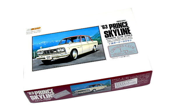 ARII Automotive Model 1/32 Cars Owners Club 63 PRINCE SKYLINE NO.21 41021 A4121