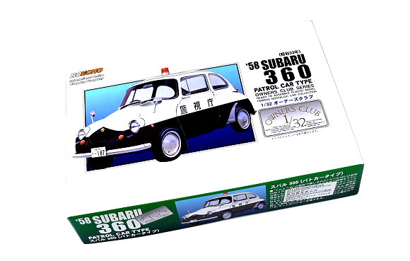 ARII Automotive Model 1/32 Cars Owners Club 58 SUBARU 360 NO.63 47068 A4768