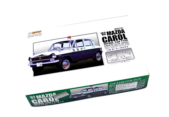 ARII Automotive Model 1/32 Cars Owners Club 62 MAZDA CAROL NO.64 47069 A4769