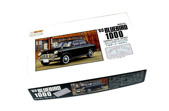 ARII Automotive Model 1/32 Cars Owners Club 60 BLUEBIRD 1000 NO.27 51003 A5103