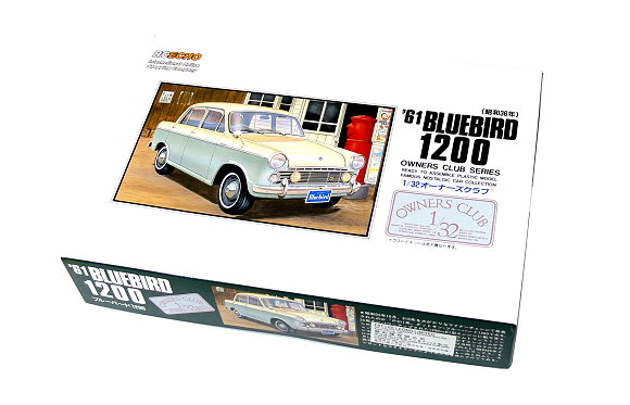 ARII Automotive Model 1/32 Cars Owners Club 61 BLUEBIRD 1200 NO.31 51007 A5107